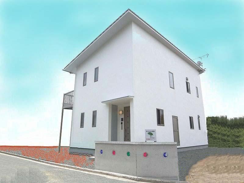 シンプルモダン+漆喰の家(中黒瀬M邸)
